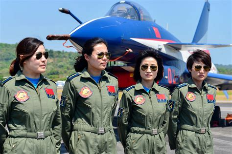 China's First Female Fighter Pilots Claim Their Half Of Sky