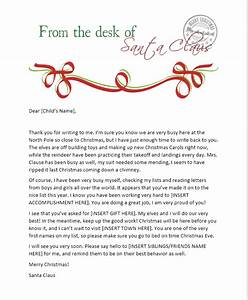 send your child a santa letter from the north pole free With letter from santa mailed to child