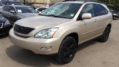 gold lexus rx pre owned gold 2004 lexus rx 330 suv awd in depth review