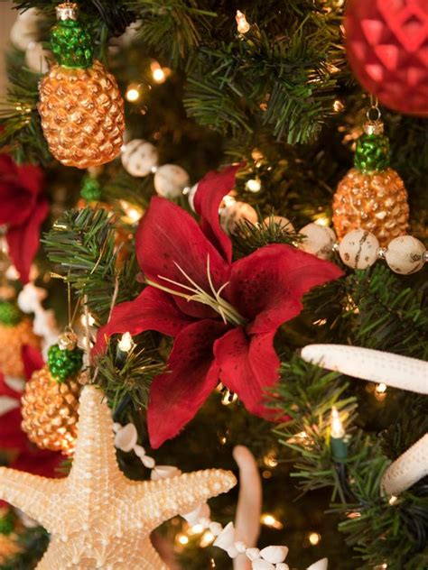 coastal  cottage style christmas decorations diy