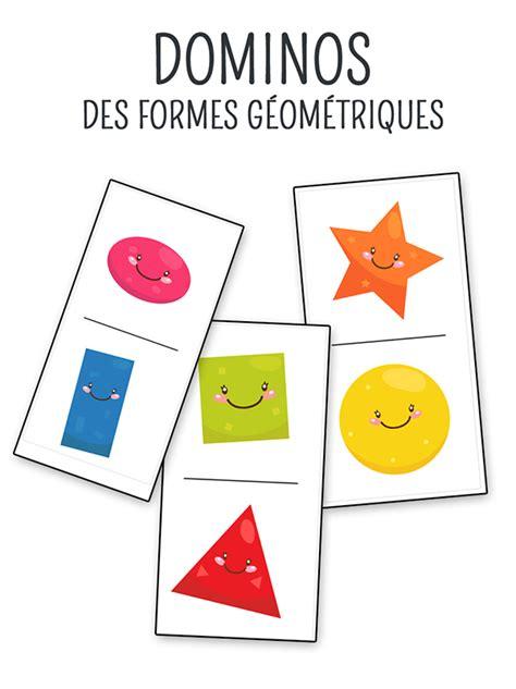 formes geometriques en anglais jeu de domino 224 imprimer sur les formes g 233 om 233 triques momes net