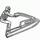 Ski Jet Coloring Pages Doo Sea Printable Drawing Seadoo Tag Colouring Sport Waverunner Tags Line Sports Easy Getcolorings Drawings Print sketch template