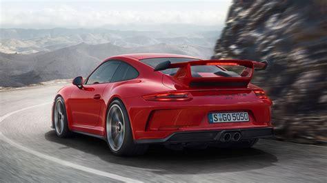 porsche gt3 new porsche 911 gt3 debuts with 500hp and stick shift