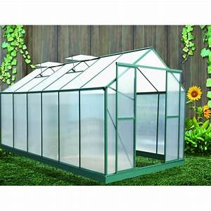 Serre De Jardin Polycarbonate : serre de jardin polycarbonate alys votre abri de ~ Dailycaller-alerts.com Idées de Décoration