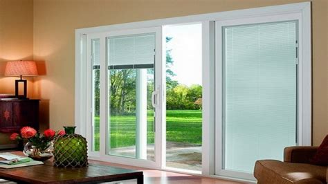sliding glass doors with blinds roller shades for sliding glass doors door design