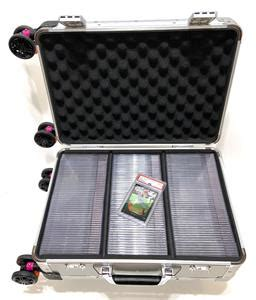 Trading card cases, storage boxes, binders, frames, sleeves and more! Holoholo Case Aluminum Graded PSA BGS Sports Card Storage Travel Carry-On Case | eBay