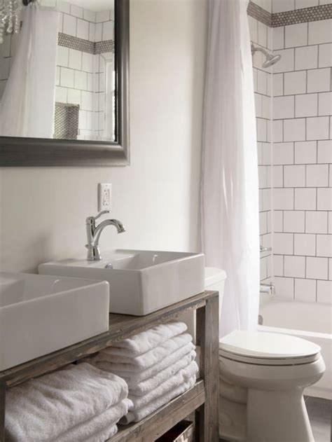 shabby chic bathroom tiles shabby chic style bathroom design ideas renovations photos with an alcove tub