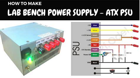 Diy Lab Bench Power Supply From Atx Psu Youtube