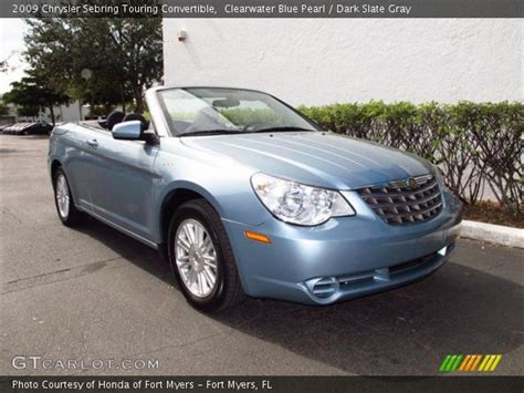 2009 Chrysler Sebring Touring by Clearwater Blue Pearl 2009 Chrysler Sebring Touring