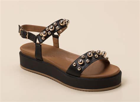 Andrea Sabatini Damen Plateau-Sandale in schwarz kaufen ...