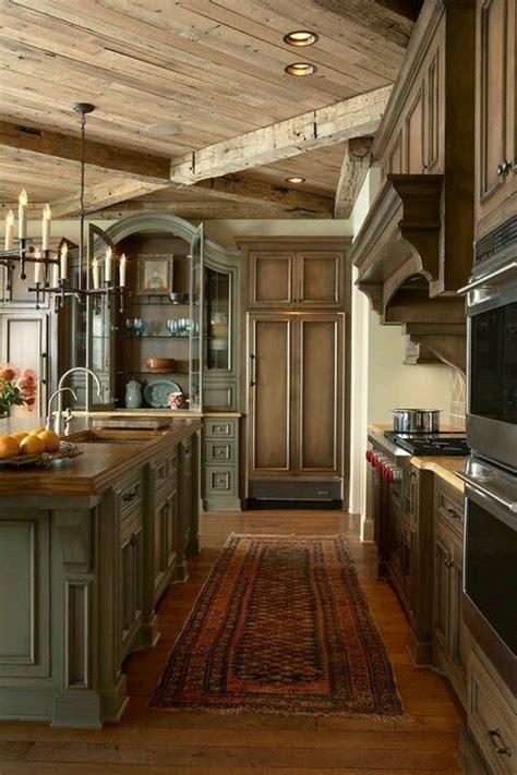 beautiful rustic kitchens beautiful rustic kitchen diy pinterest