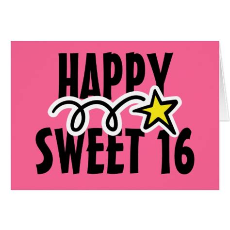 Sweet 16 Birthday Quotes Happy Quotesgram