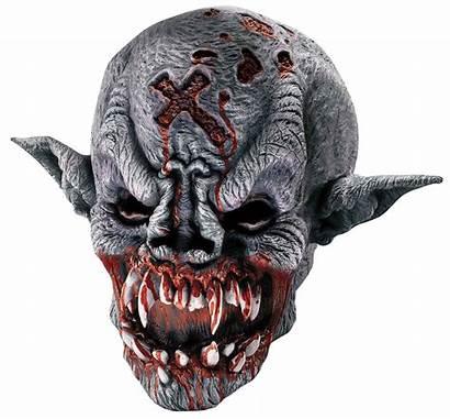 Mask Halloween Scary Masks Demon Vampire Scariest
