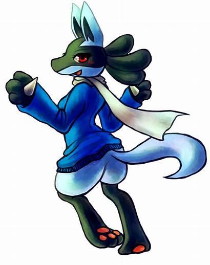 Lucario Pokemon Female Haychel Saria Deviantart Fanart