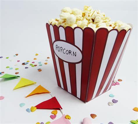 popcorn tuete digital kino party kindergeburtstag