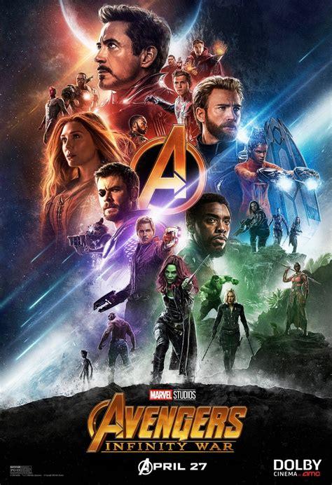 Avengers Infinity War Movie Poster  Teaser Trailer