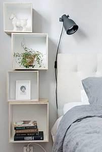 Deco Chambre Bois : etag res en bois de r cup pour une d co de chambre zen bedrooms decoration and room ~ Melissatoandfro.com Idées de Décoration