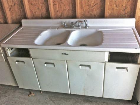 Vintage Porcelain Kitchen Sink   Rapflava