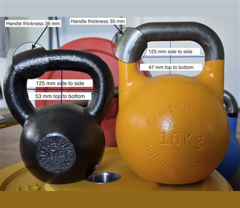 kettlebells kettlebell difference between competition different bellingham styles