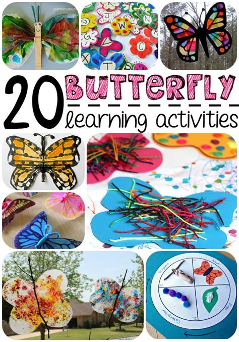 20 butterfly learning activities crafts for kids