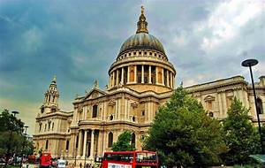 St Paul's Cathedral (1675-1710), London, England ...