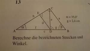Dreieck Berechnen Rechtwinklig : berechne die bezeichneten strecken und winkel im rechtwinkligen dreieck mathelounge ~ Themetempest.com Abrechnung