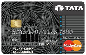 Please note that in case funds are received from your bank, tata card will credit your card account within two working days after receipt. Sbi Credit Cards - State Bank Of India Credit Card Information