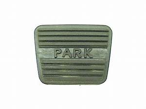 For 1987 Gmc R1500 Parking Brake Pedal Pad 44565zn