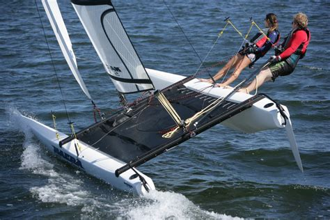 Catamaran Boat For Sale Near Me by Nacra 570 Nacra Sailing Worlds Best Catamarans
