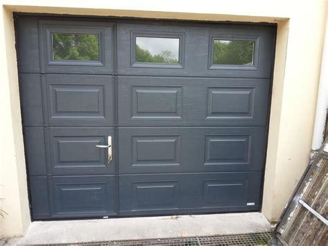 porte sectionnelle garage avec portillon obasinc