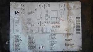 Chevy Trailblazer 2001 2009 Main Fuse Box Location And Diagram