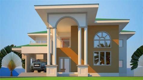 ghana houseplan house floor plans
