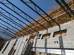 Metal joists buildipedia for Structural floor joists