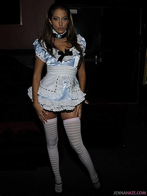 jenna haze maid outfit new img