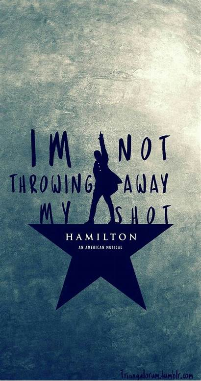 Hamilton Wallpapers Theatre Musical Alexander Quotes Background