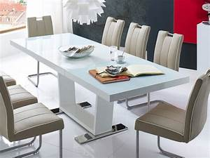 Esstisch Oval Weiß Ausziehbar : esstisch ausziehbar 160 240 x90x76cm tisch hochglanz weiss auszugstisch magno ebay ~ Watch28wear.com Haus und Dekorationen