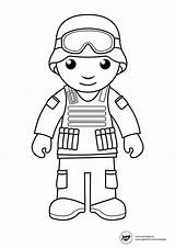 Coloring Pages Army Printable Military Soldier Fearless Sheets Navy Colouring sketch template