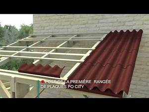 Plaque Ondulée Pour Toiture : eternit po city la plaque ondul e pratique youtube ~ Premium-room.com Idées de Décoration