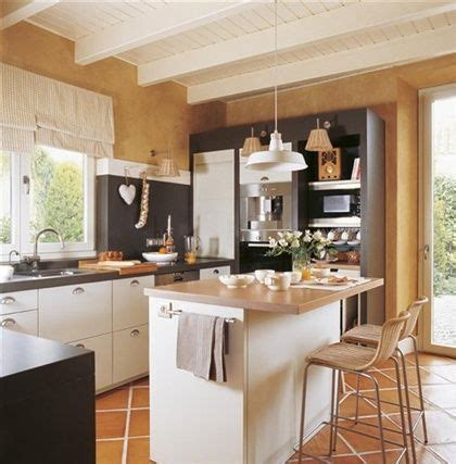 cocinas barras de desayuno  cocina en color blanco