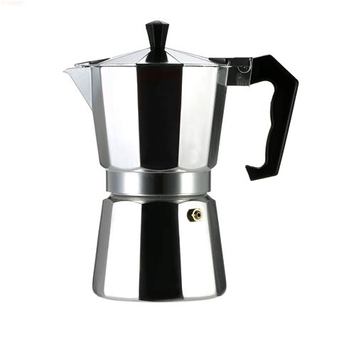 The art of making a perfect cup of coffee or tea develops with practice, and the right brewing equipment. Second Hand 6-Cup Aluminum Espresso Percolator Coffee Stovetop Maker Mocha Pot for Use on Gas or ...