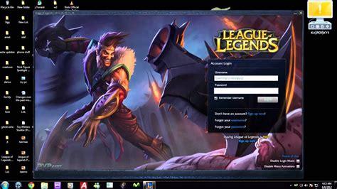 league  legends draven login youtube