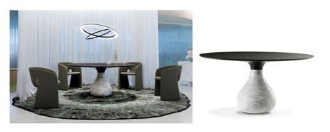tentation design table de repas aqua de roche bobois