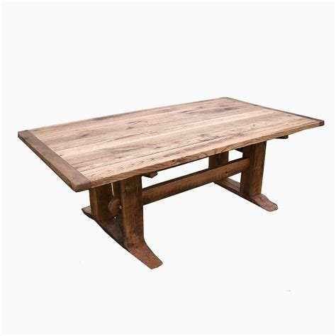 desk chairs modern buy a crafted antique oak mission style trestle table