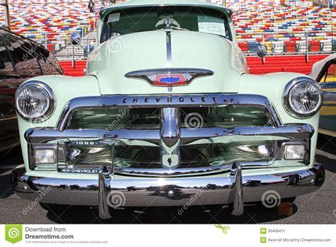 camioneta pickup antigua de chevrolet foto editorial