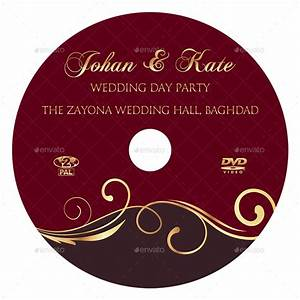 Wedding dvd cover and dvd label template vol9 by for Dvd case labels