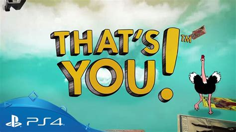 That's You! | Launch Trailer | PS4 - YouTube