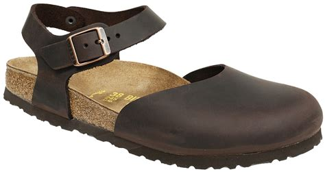 birkenstock messina womens leather covered toe sandal