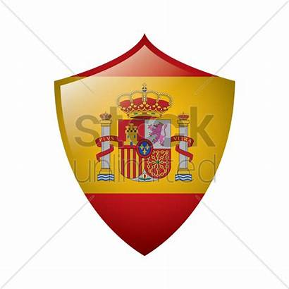 Flag Spain Icon Vector Stockunlimited Illustration