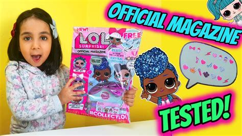 Brand New Official Lol Surprise Magazine! Put To The Test
