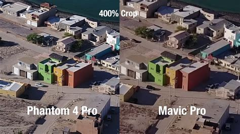 phantom  pro advanced  mavic pro camera tests youtube